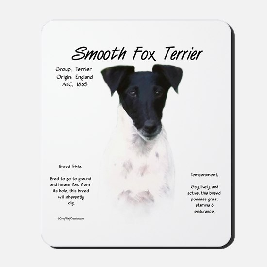 Smooth Fox Terrier Mousepad