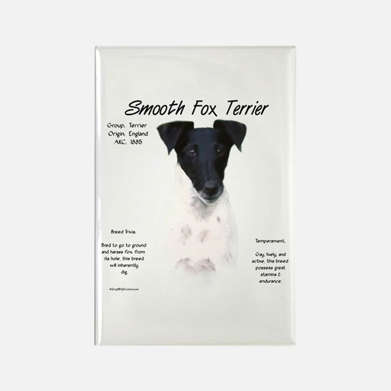 Smooth Fox Terrier Rectangle Magnet