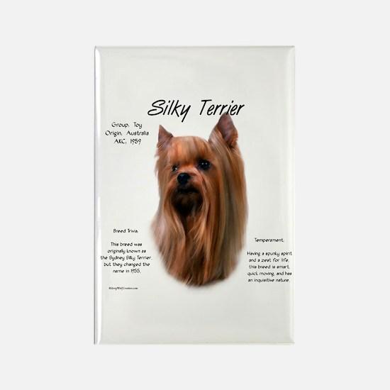 Silky Terrier Rectangle Magnet