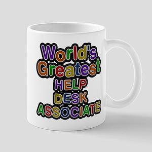 Worlds Greatest HELP DESK ASSOCIATE Mugs