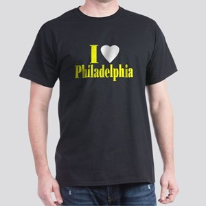I Love Philadelphia Black T-Shirt