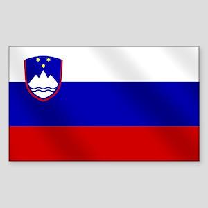 Flag of Slovenia Sticker (Rectangle)