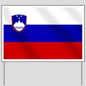 Flag of Slovenia Yard Sign