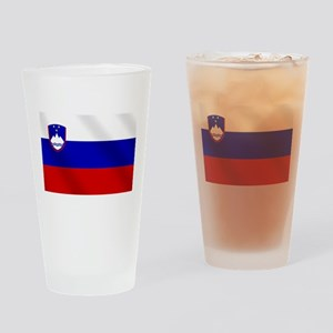 Flag of Slovenia Drinking Glass