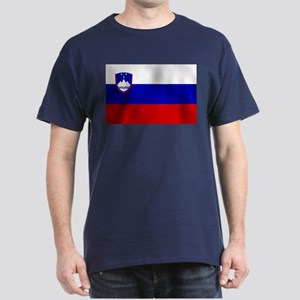 Flag of Slovenia Dark T-Shirt