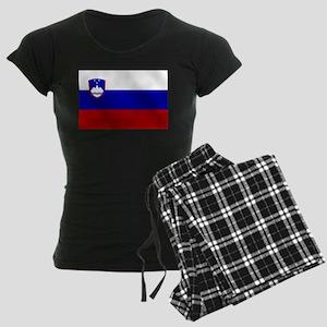 Flag of Slovenia Women's Dark Pajamas