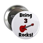 Being 3 Rocks! Button
