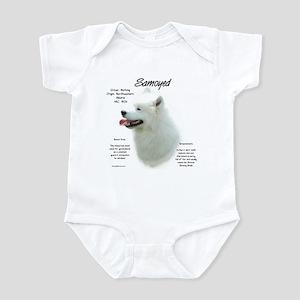 Samoyed Baby Light Bodysuit