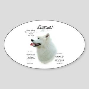 Samoyed Sticker (Oval)