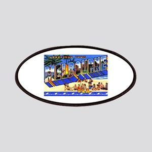 Melbourne Florida Greetings Patches