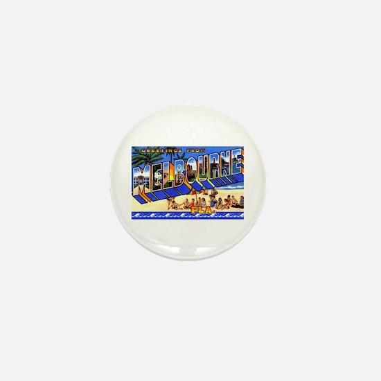 Melbourne Florida Greetings Mini Button
