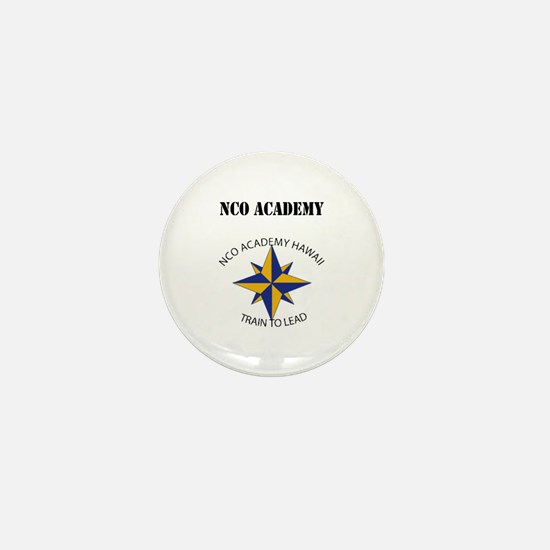NCO Academy with Text Mini Button