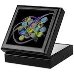 Atom Flowers #31 Keepsake Box