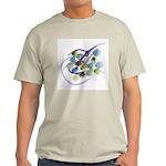 Atom Flowers #31 Light T-Shirt
