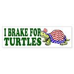 USA Turtle Bumper Sticker