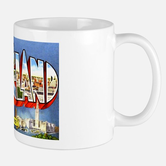 Cleveland Ohio Greetings Mug