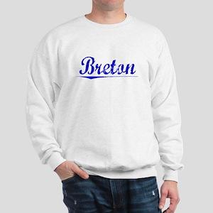 Breton, Blue, Aged Sweatshirt