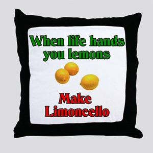 When Life Hands You Lemons Throw Pillow