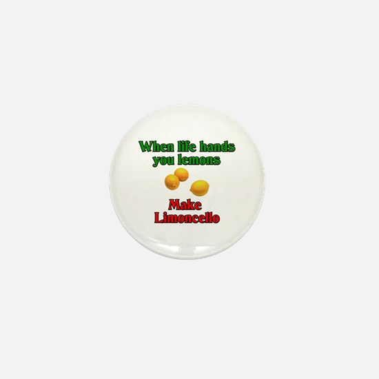 When Life Hands You Lemons Mini Button