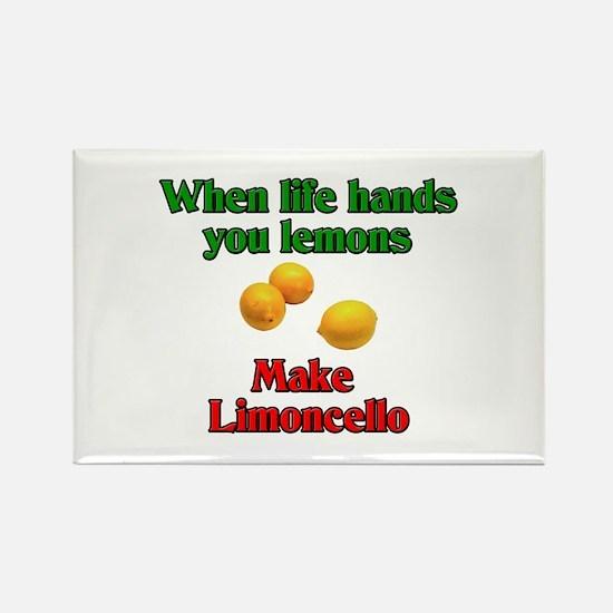 When Life Hands You Lemons Rectangle Magnet (10 pa