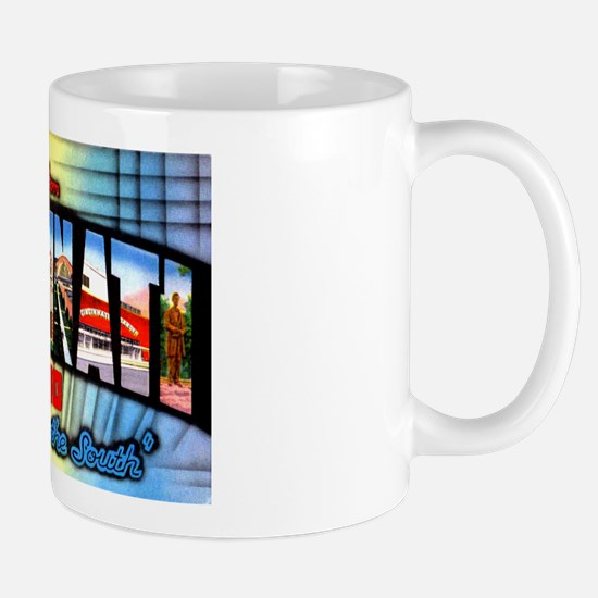 Cincinnati Ohio Greetings Mug