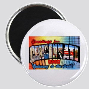 Cincinnati Ohio Greetings Magnet