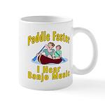 Paddle Faster I hear Banjos Mug