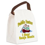 Paddle Faster I hear Banjos Canvas Lunch Bag