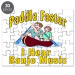 Paddle Faster I hear Banjos Puzzle