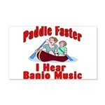 Paddle Faster 20x12 Wall Decal