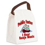 Paddle Faster Canvas Lunch Bag