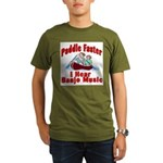 Paddle Faster Organic Men's T-Shirt (dark)