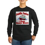 Paddle Faster Long Sleeve Dark T-Shirt