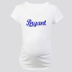 Bryant, Blue, Aged Maternity T-Shirt