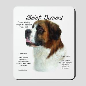 Saint Bernard (Rough) Mousepad