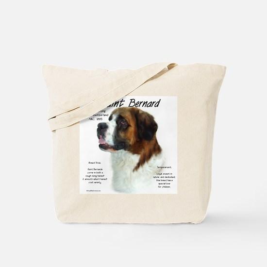 Saint Bernard (Rough) Tote Bag