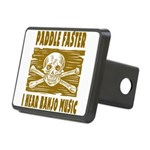 Paddle Faster Hear Banjos Rectangular Hitch Cover