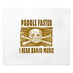 Paddle Faster Hear Banjos King Duvet