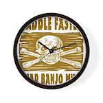 Paddle Faster Hear Banjos Wall Clock