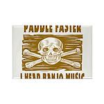 Paddle Faster Hear Banjos Rectangle Magnet