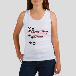Rescue Dog Mom Women's Tank Top