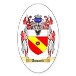 Antonelli Sticker (Oval 10 pk)