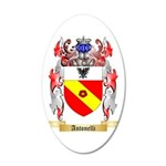 Antonelli 35x21 Oval Wall Decal