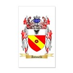 Antonelli 35x21 Wall Decal