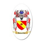 Antonellini 20x12 Oval Wall Decal