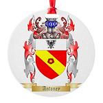 Antoney Round Ornament