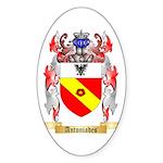 Antoniades Sticker (Oval 50 pk)