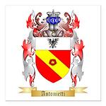 Antonietti Square Car Magnet 3