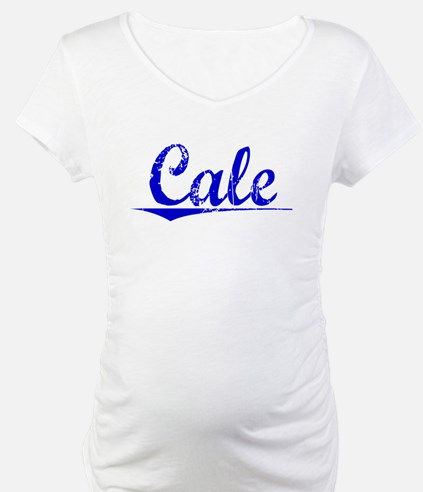 Cale, Blue, Aged Shirt