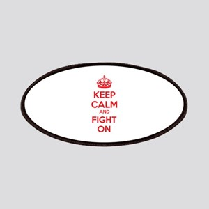 Keep calm and fight on Patches